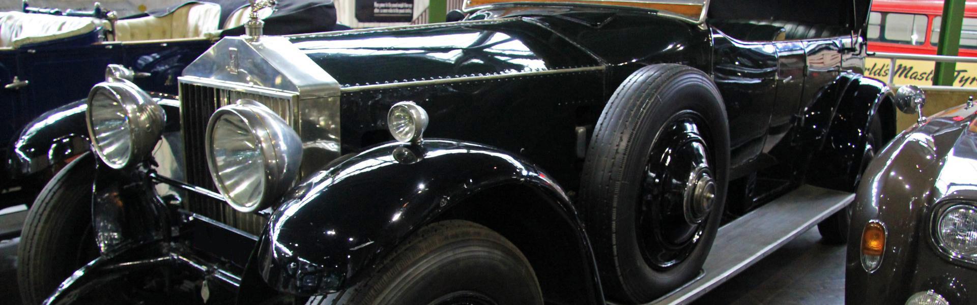 Silver Ghost restoration finance